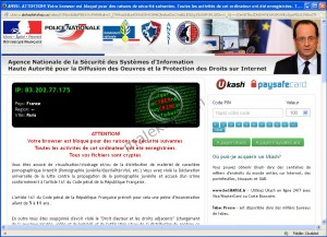 Virus gendarmerie nationale