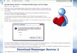 Messenger Reviver 2