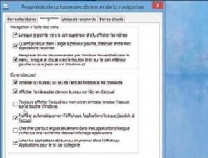 Bouton démarrer Windows 8.1