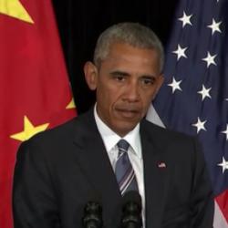 Barack Obama s'est exprimé en marge du G20 qui s'est tenu à Hangzhou en Chine à propos de la « logique d'escalade » dans le domaine des cyberattaques. (crédit : D.R.)