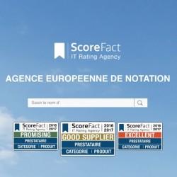 ScoreFact a mis en place trois labels pour certifier la qualité de service des prestataires IT.